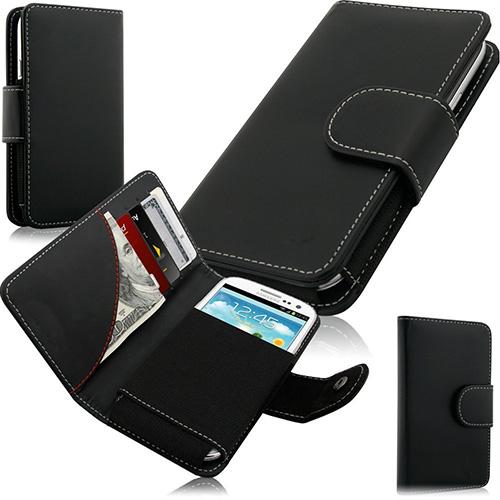 Swiss Leatherware Credit Card Wallet Case for HTC U11