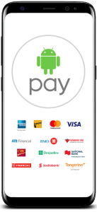 Android Pay supported Canadian banks and credit cards
