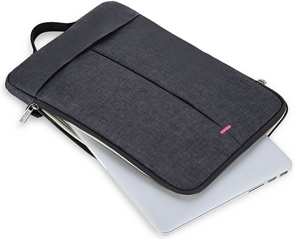 CAISON Water Resistant Cross Body Shoulder Bag for Laptop or Tablet PC