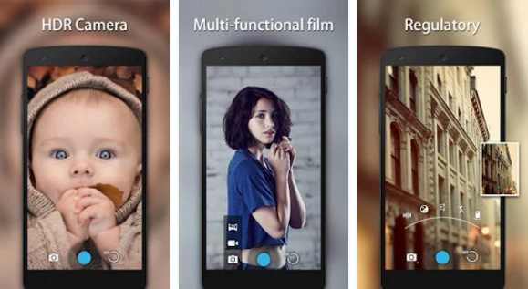HD Camera Android app