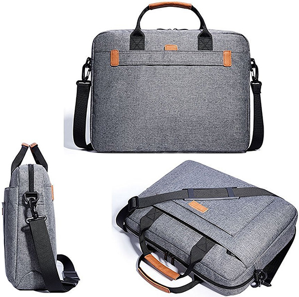 KALIDI 17.3 Inch Notebook Briefcase Messenger Bag