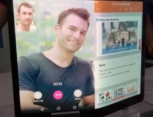 Lenovo Folio bendable tablet