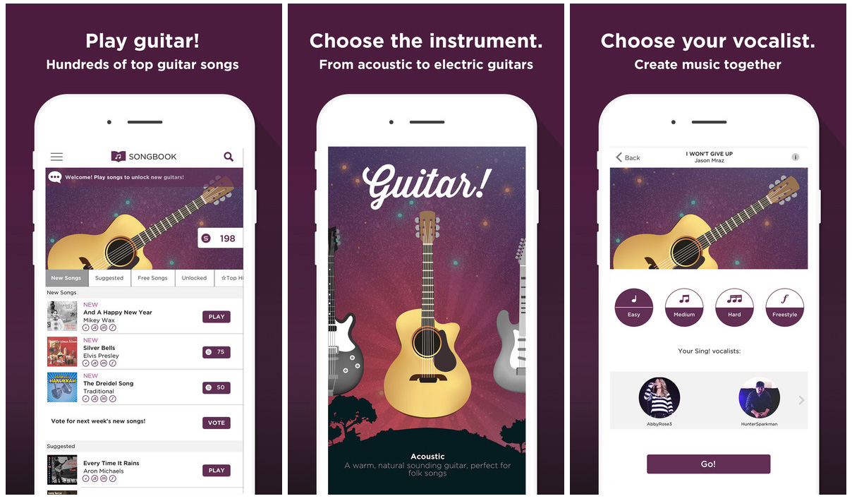 Guitar! by Smule iOS music app