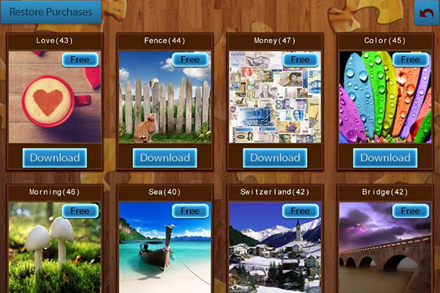Jigsaw Puzzles Free Android app