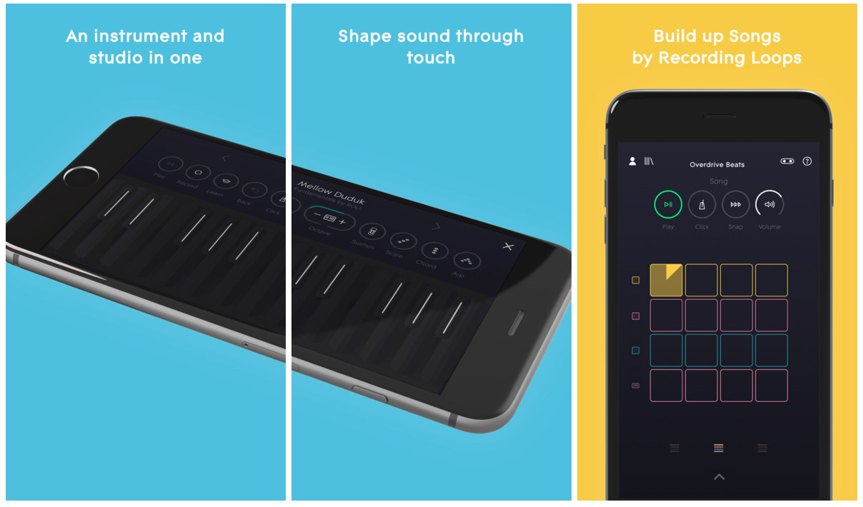 NOISE mobile music app for iOS