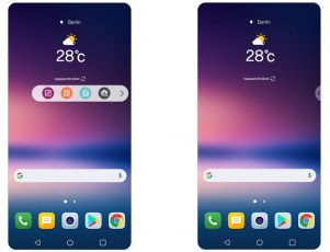 New Advanced UX for LG V30 OLED FullVision Display