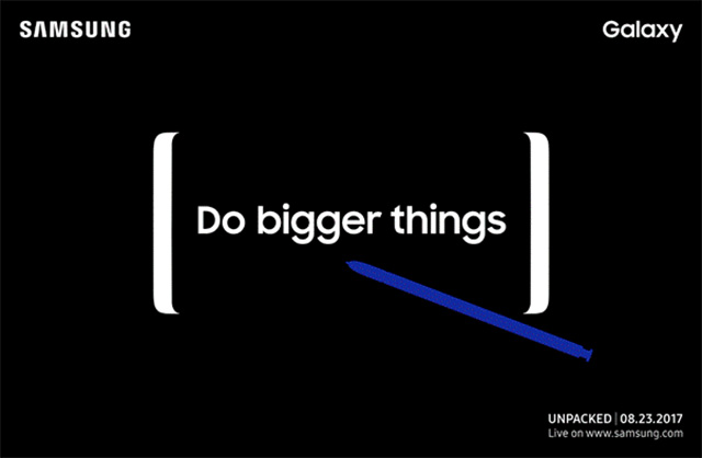 Samsung Do Bigger Things ad