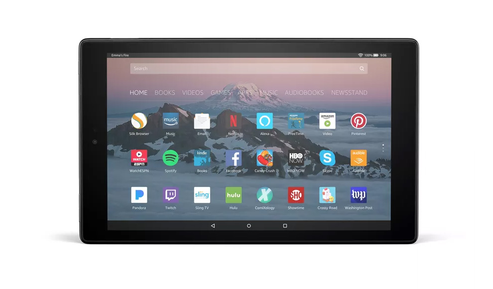 All new Amazon Fire HD 10 2017 flagship tablet PC