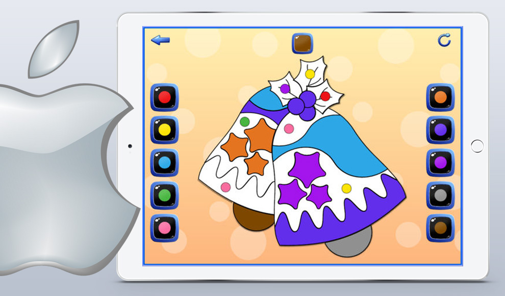 Colors Fun and Learn iPad app for kids