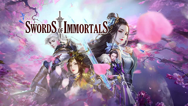 Sword of Immortals mobile game poster