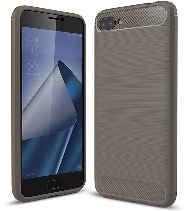TopACE Ultra Slim Carbon Fiber Case for ASUS ZenFone 4 Max
