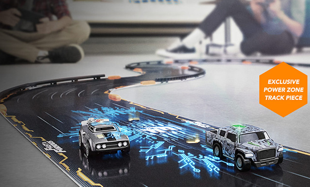 Anki OVERDRIVE Power Zone feature