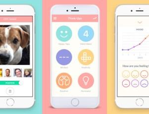 Think-Ups mental health iOS app