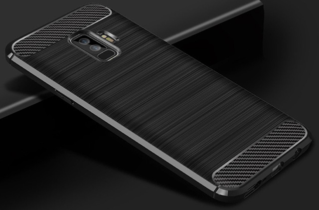 Dretal Carbon Fiber Shock Resistant Galaxy S9 Plus Case