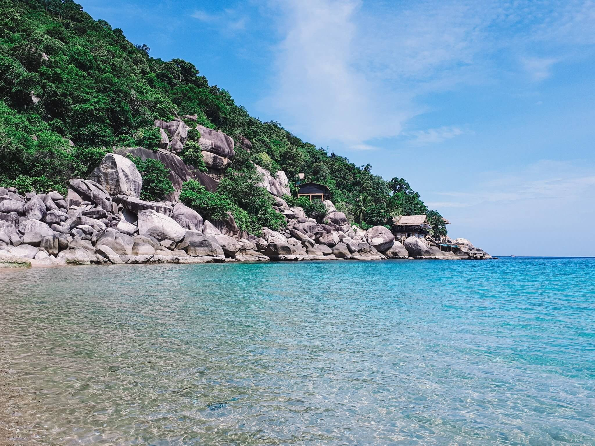 Maya bay on Koh Tao, Thailand.
