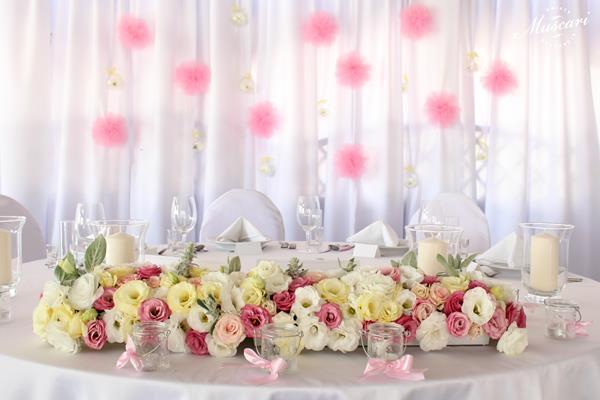 dekroacje stołu Pary Młodej