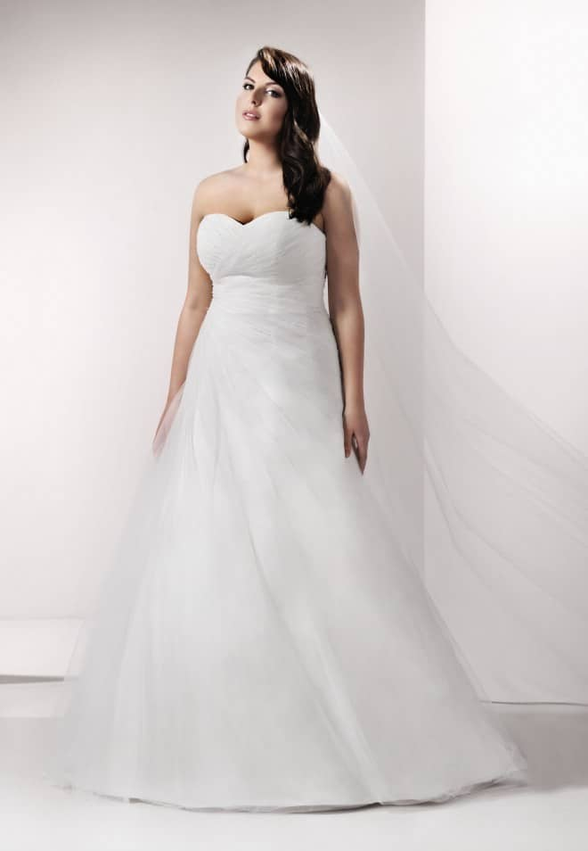 suknie ślubne dla puszystych