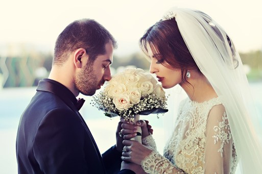 papierowy bukiet ślubny