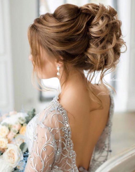 modne fryzury ślubne 2017