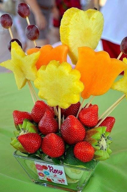 owoce na weselu