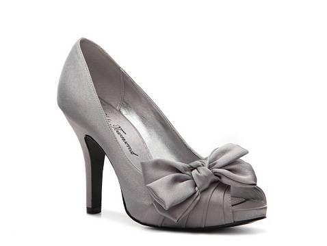 szare buty ślubne