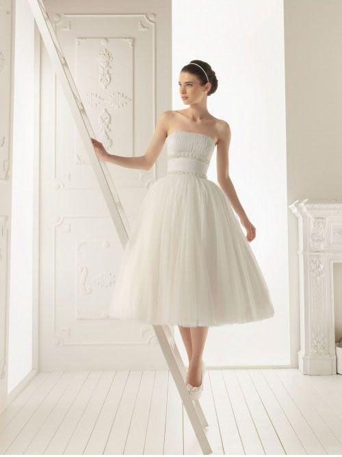 tiulowa suknia ślubna