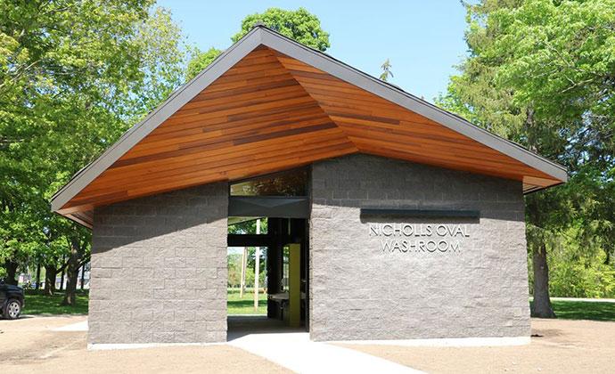 Nicholls Oval Washroom Pavilion
