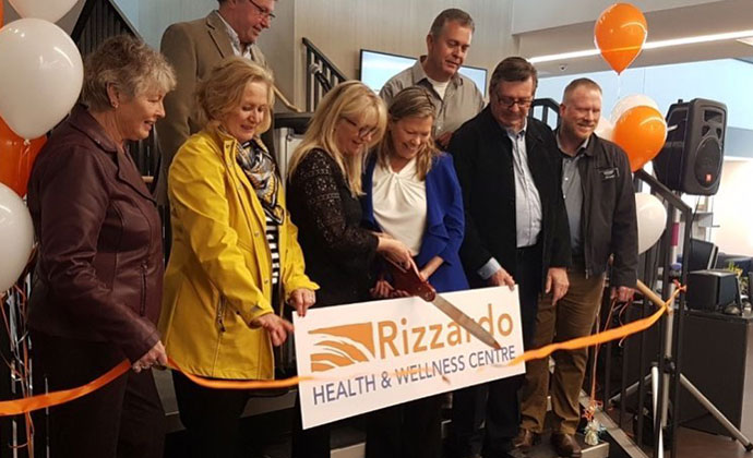 Rizzardo Health & Wellness Centre Opening