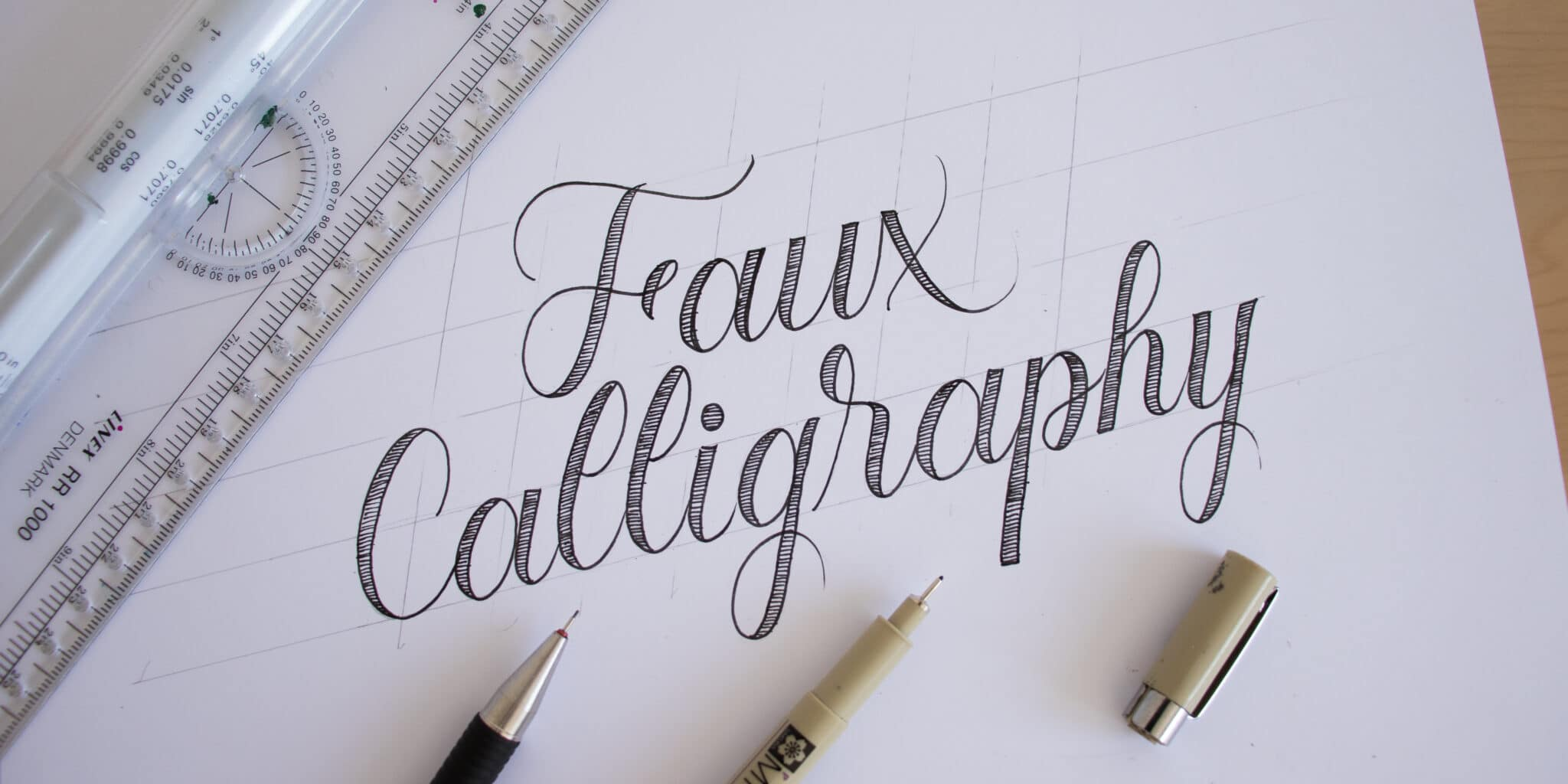 How To Do Calligraphy Easy