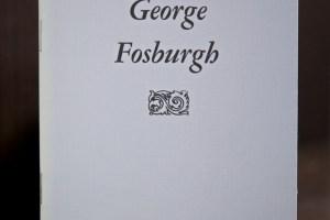 George Fosburgh pamphlet