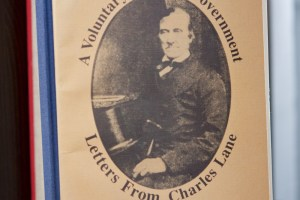 A Voluntary Political Governmetn, Letters From Charles Lane
