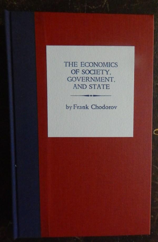Frank Chodorov's new book