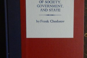 Frank Chodorov's new book