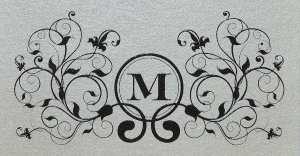 Thermography printer monogram