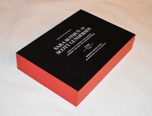 White foil wedding invitation.