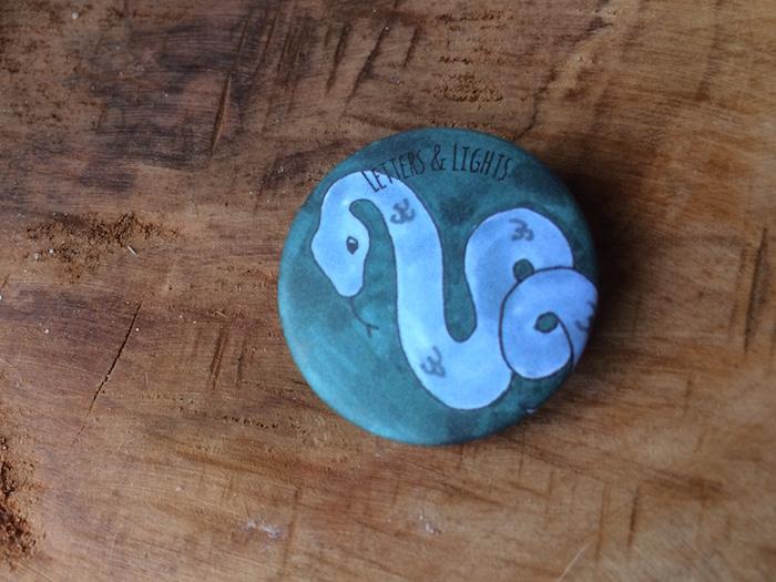 Slytherin Button