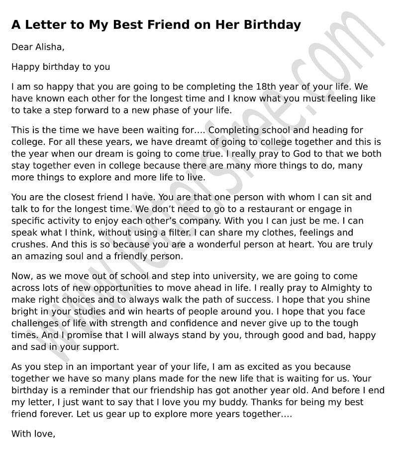 Birthday Letter To Daddy From Daughter Free Letters