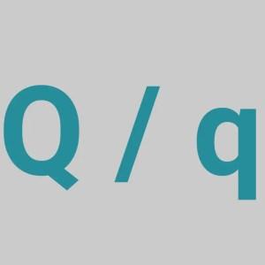 Letter Q - The Letter Q