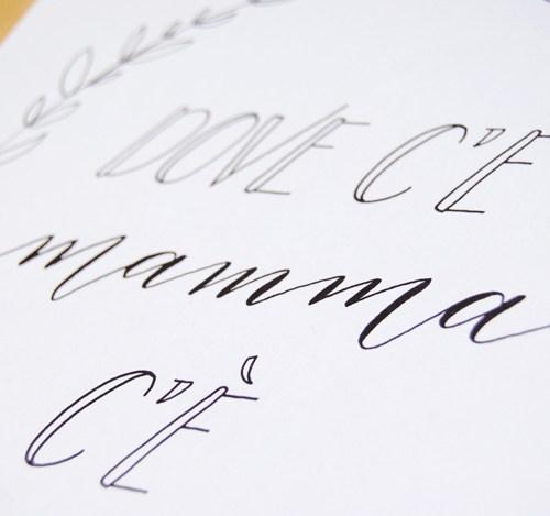 Affiche, lettres, calligraphie & déco | Letters Love Life