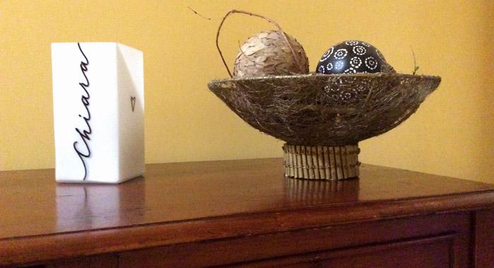 Lampe en verre personnalisée - Prénom écrit en calligraphie - Feedback client