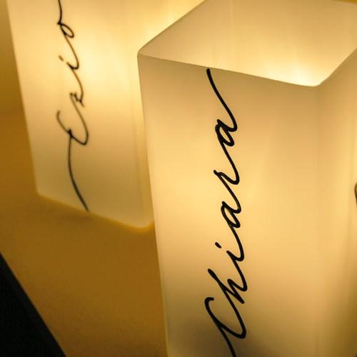 Lampes à personnaliser avec prénom: une idée pour un cadeau original pour couple ou un cadeau pour la saint valentin