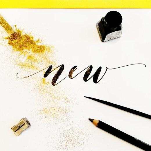 Nouveauté | Déco & Calligraphie | Letters Love Life