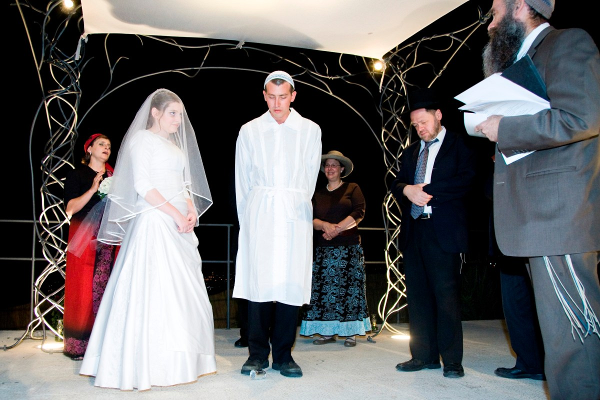 From the Archives, May 2008: Jewish Weddings