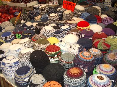 Needless to say, crocheting is a highly prized skill in our community. :P I can crochet, but making kippot bores me to death.
