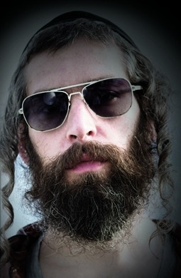 "Talk about busting stereotypes. ""Matisyahu in shades"" by Ralph