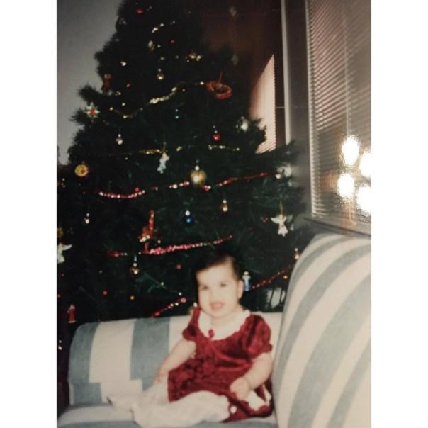 Alana's very first Christmas in Las Vegas