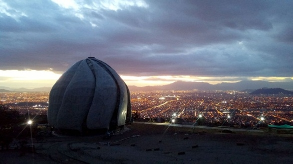 The Baha'i House of Worship in Santiago, Chile. Photo courtesy of Baha'i World News Service