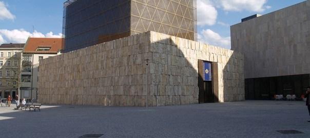 A Jewish synagogue in Munich