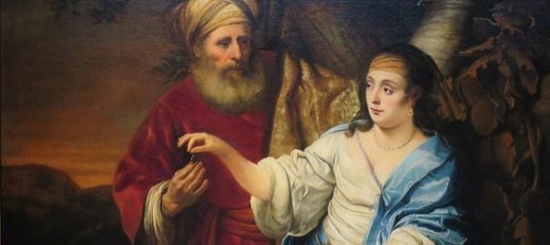 painting of Judah and Tamar