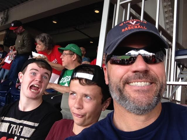 Goofy Baseball picture at Nationals Park